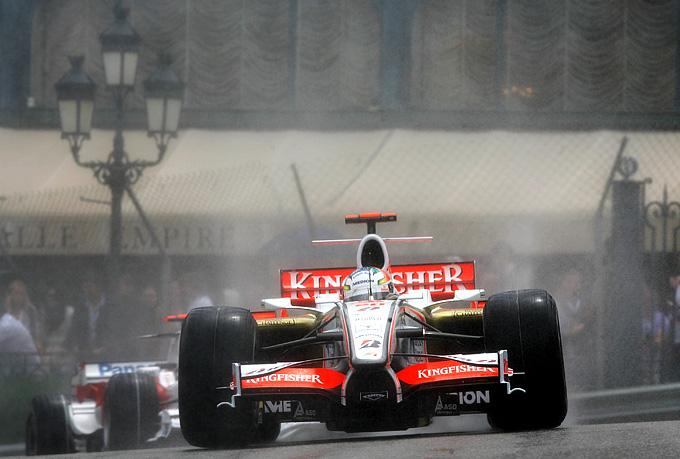 Адриан Сутиль на Гран-при Монако-2008