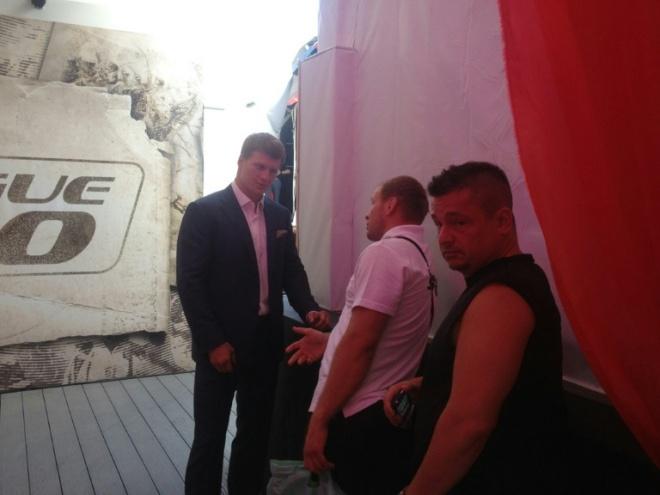 Александр Поветкин и Александр Шлеменко уже прибыли на турнир