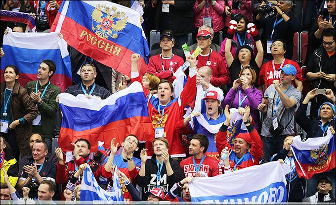 15 февраля 2014 года. Сочи. XXII зимние Олимпийские игры. Хоккей. Групповой этап. США — Россия — 3:2 (ПБ)