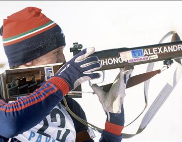 Четырёхкратный олимпийский чемпион Александр Тихонов всегда знал толк в оружии