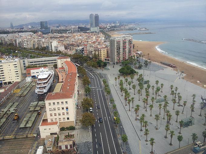 Барселона — вид с горы Монжуик