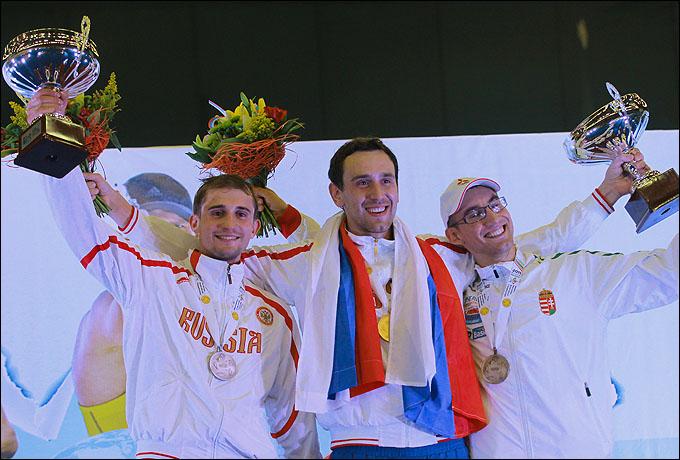 Андрей Моисеев и Александр Лесун — сильнейшие пятиборцы планеты