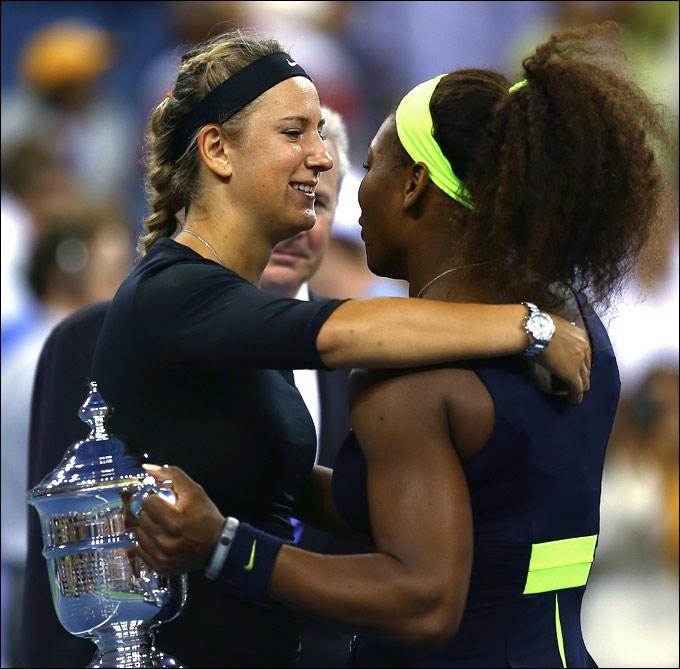 US Open. Финал. С. Уильямс – Азаренко – 6:2, 2:6, 7:5