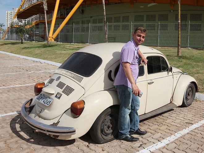 Очень часто встречается старый-добрый «Фольцваген-Жук». Эта модель очень популярна в Южной Америке