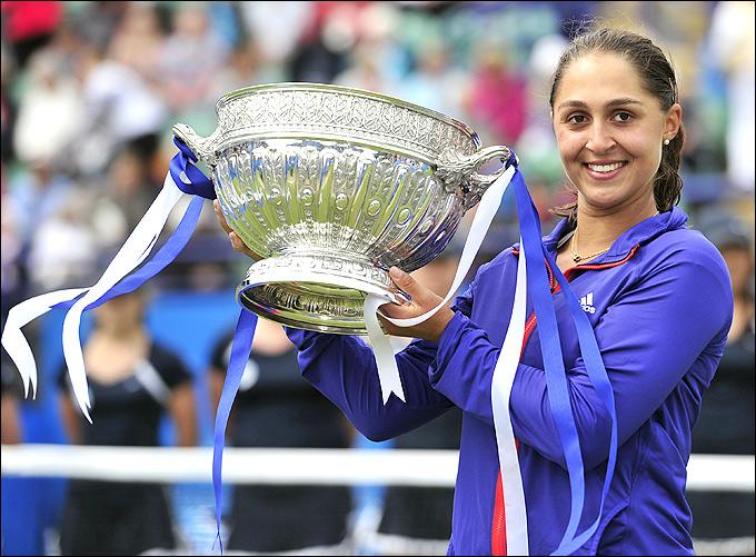 Тамира Пажек спасла два тяжёлых матча подряд и стала чемпионкой Истбурна