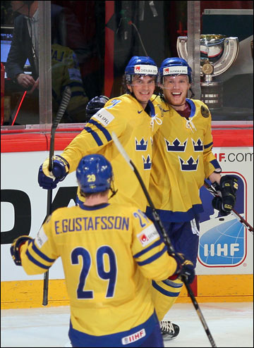 Секунду назад шведы практически решили судьбу Кубка