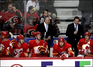 "Как дела, НХЛ? ""Калгари Флэймз"". Боб Хартли"