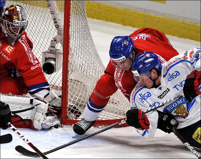 11 февраля 2012 года. Стокгольм. Еврохоккейтур. Шведские игры. Финляндия — Чехия — 7:0