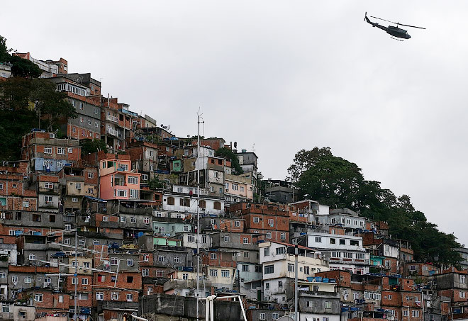 Фавелы Сан-Паулу