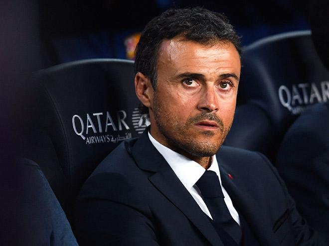 Пока ещё главный тренер «Барселоны» Луис Энрике