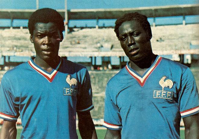Жан-Пьер Адамс и Мариус Трезор — «чёрные стражи» сборной Франции