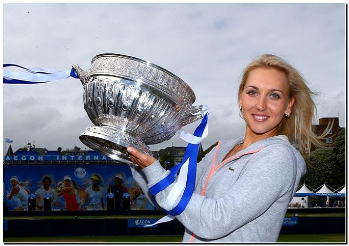 Елена Веснина победила в Истбурне