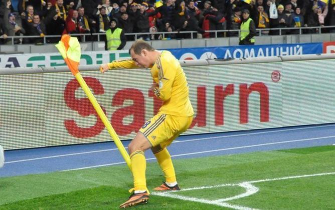 Зозуля в игре с Францией забил гол и заработал пенальти