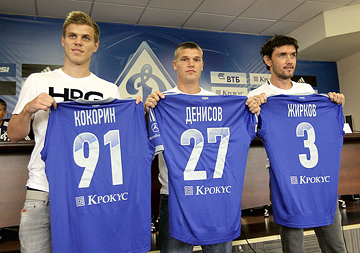 Александр Кокорин, Игорь Денисов и Юрий Жирков