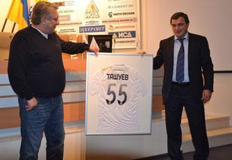 1 января Сергею Ташуеву исполнилось 55 лет