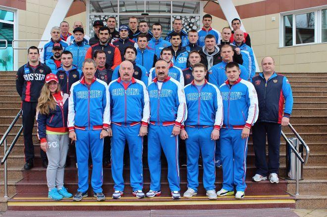 Расширенный состав сборной России по боксу