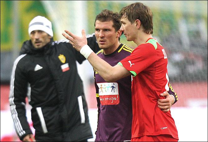 Александр Прудников и Роман Павлюченко