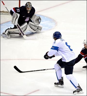 Теему Селянне забросил две шайбы в ворота сборной США