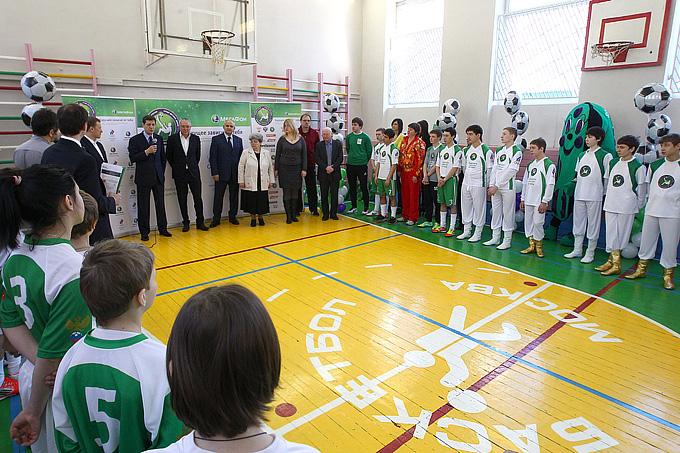 Открытие очередного Чемпионата России по футболу среди команд детских домов и школ-интернатов