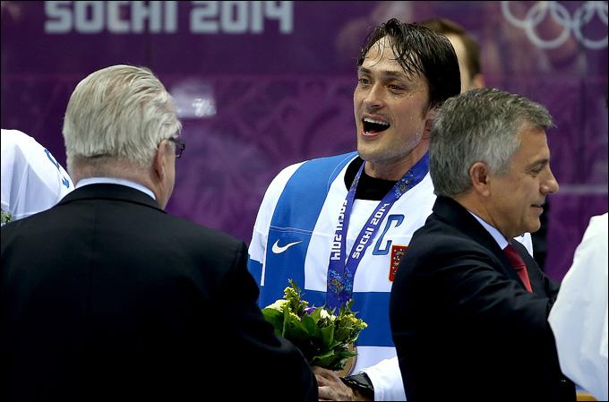 Теему Селянне и его олимпийская бронза