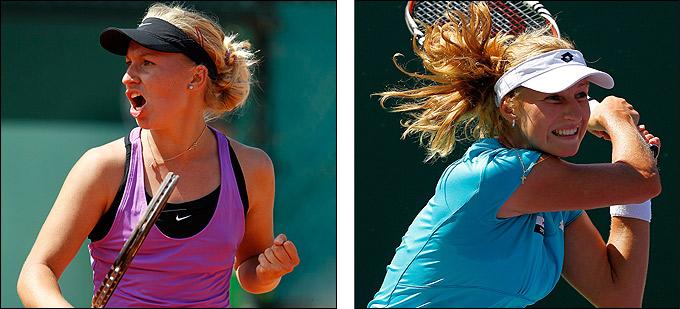 Гаврилова выиграла первый матч в WTA, а Макарова победила Квитову