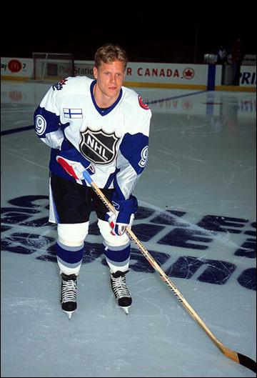 Саку Койву на Матче Всех Звезд НХЛ