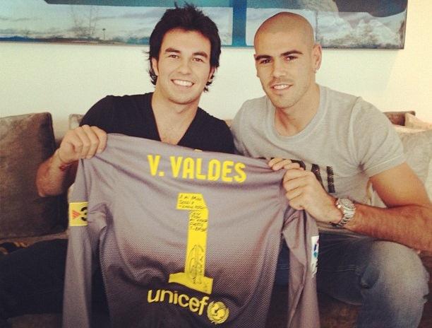 Серхио Перес и Виктор Вальдес