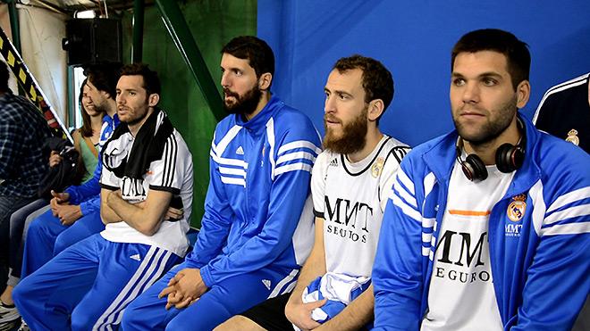 А на следующий день победители отправились поддержать молодёжный состав «Реала»