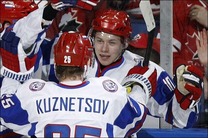 Владимир Тарасенко и Евгений Кузнецов — главные таланты чемпионата.