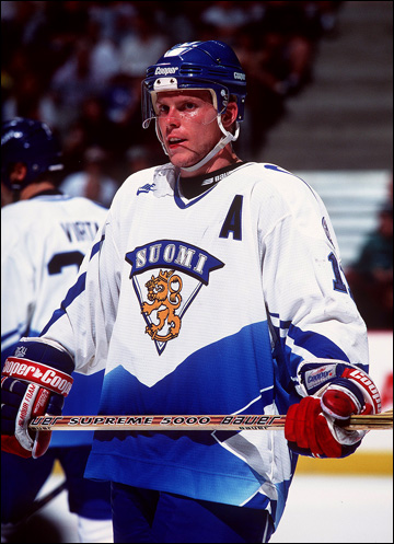 Саку Койву в сборной Финляндии, 1998 год