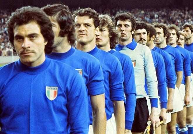 Фабио Капелло в составе сборной Италии