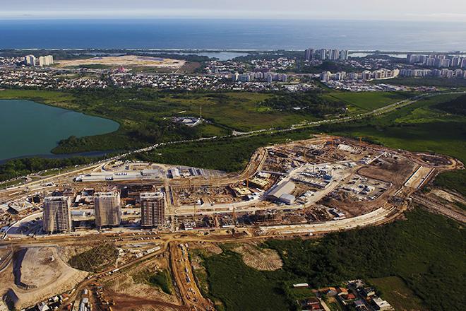 Рио-де-Жанейро-2016. Строительство олимпийской деревни