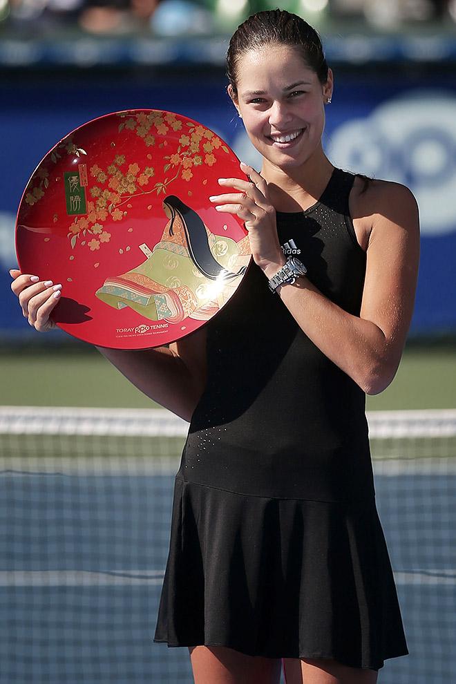 Иванович завоевала четвёртый трофей в году
