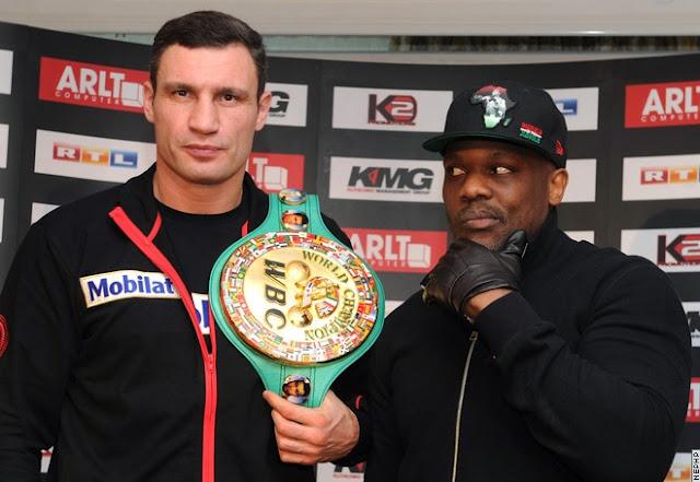 Кличко, титул WBC и Чизора