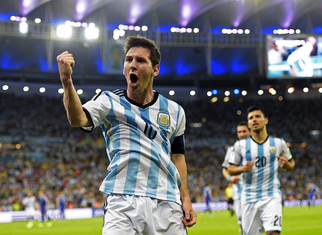 Лионель Месси помог Аргентине обыграть Боснию