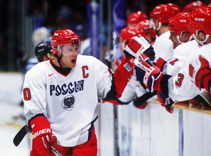 Павел Буре дважды приводил сборную России к олимпийским медалям