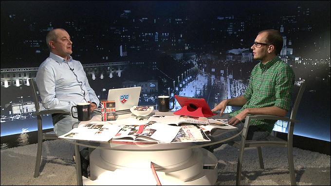 """Алексей Шевченко и Роман Чернявский в программе """"Трибуна"""""""