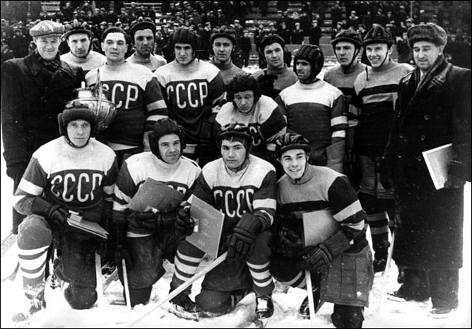 Александр Виноградов и сборная СССР