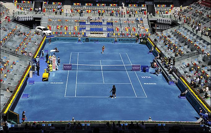 Использование синего грунта в сезоне-2013 запрещено ATP