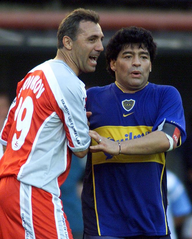 Христо Стоичков и Диего Марадона