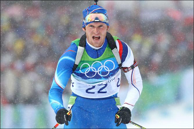 Чешский олимпионик Михал Шлезингр