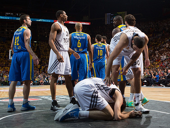 Руди Фернандес во время финального матча получил травму