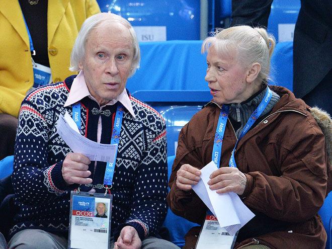 Олег Протопопов и Людмила Белоусова