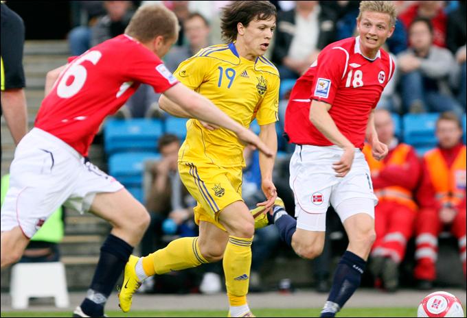 Украина ни разу не проигрывала сборной Норвегии
