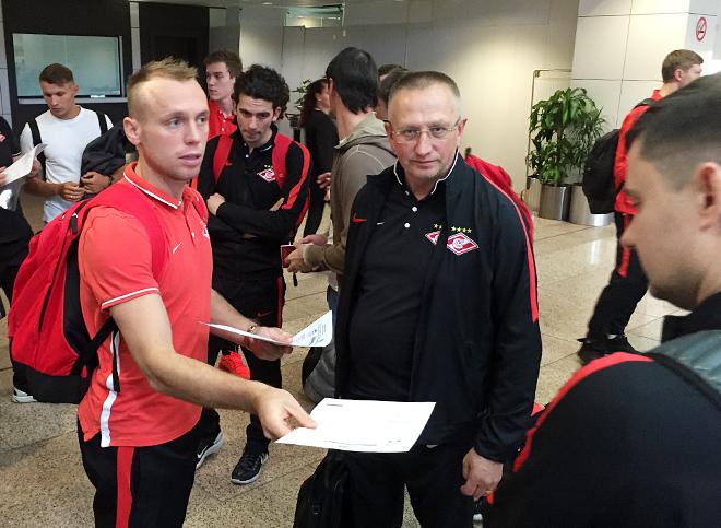 Денис Глушаков и Михаил Вартапетов