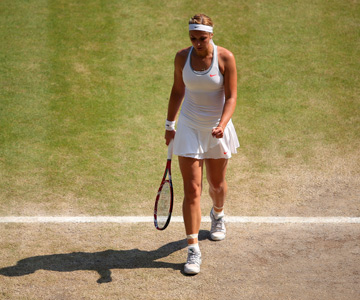 Сабина Лисицки во второй раз проиграла в финале Уимблдона