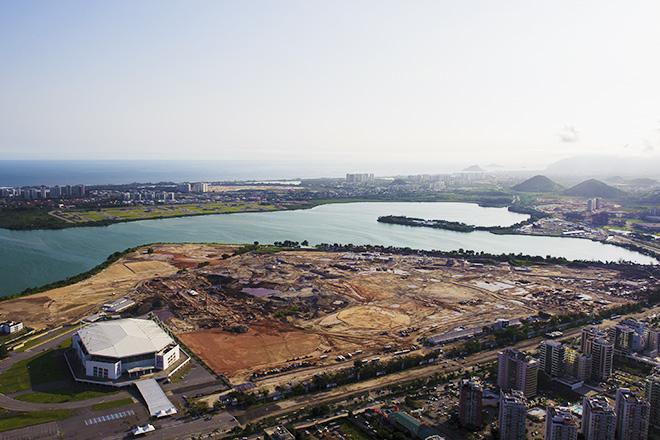 Рио-де-Жанейро-2016. Так пока выглядит будущий олимпийский парк