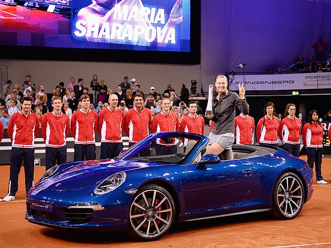 Мария Шарапова выиграла два последних турнира в Штутгарте
