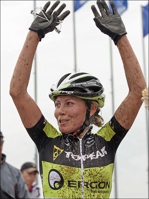 Ирина Калентьева — наша главная олимпийская надежда в маунтинбайке