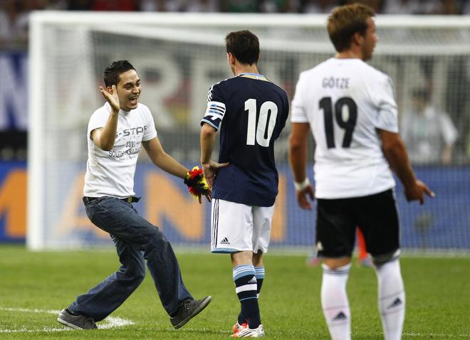 15 августа 2012 года. Товарищеский матч Германия — Аргентина